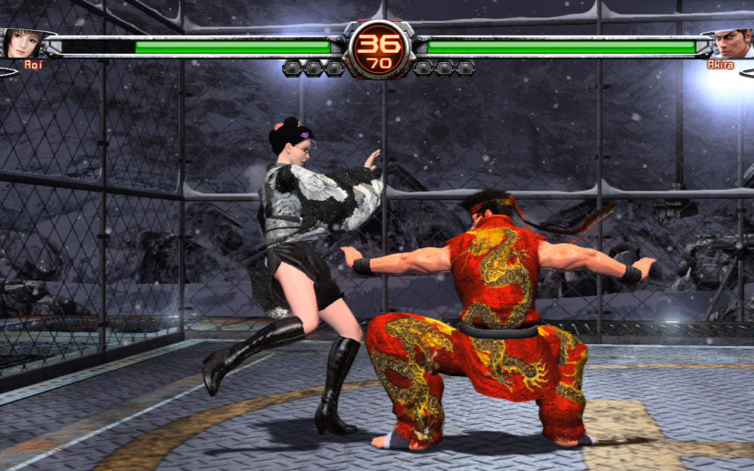 Test : Virtua Fighter 5
