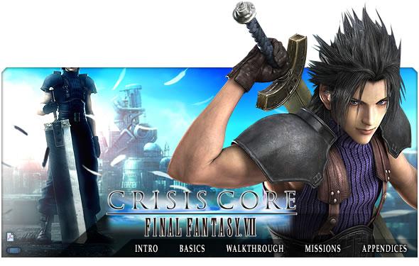 Test [PG] : Final Fantasy VII : Crisis Core