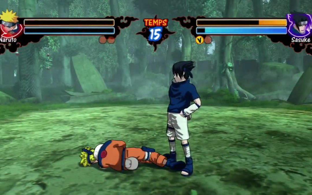 Test [PG] : Naruto : Rise of a Ninja