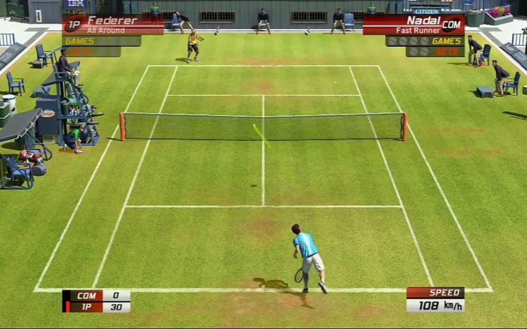 Test [PG] : Virtua Tennis 3