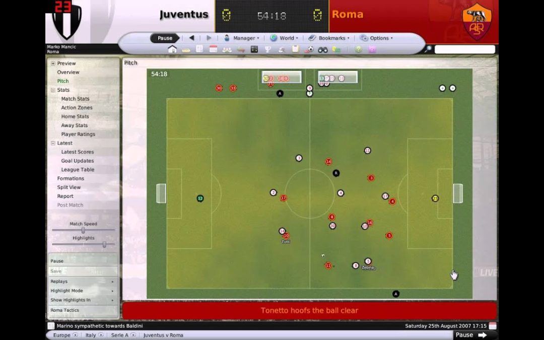 Test [PG] : Football Manager 2008