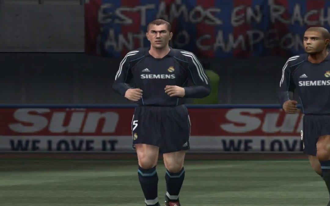 Test [PG] : Pro Evolution Soccer 5